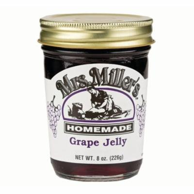 Mrs. Miller's Grape Jelly 8 oz. (3 Jars)