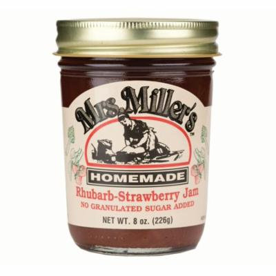 Mrs. Miller's No Sugar Rhubarb-Strawberry Jam 8 oz. (3 Jars)