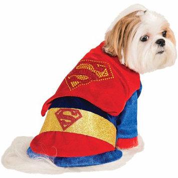 Rubies Cuddly Superman Dog Costume Size: Extra Large (28