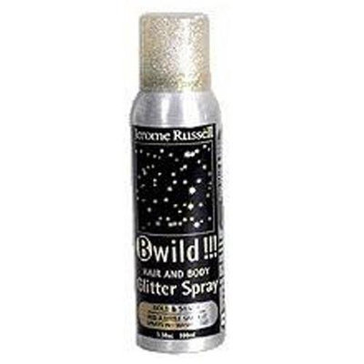 Jerome Russell B-Wild Glitter Spray DUO Gold & Silver