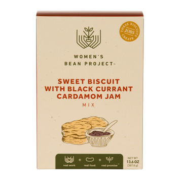 Women's Bean Project Sweet Biscuit with Black Currant Cardamom Jam Mix, 13.6 oz. box