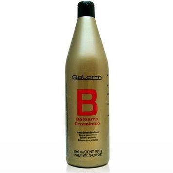 Salerm Protein Balsam Conditioner 34.6 oz (1 Liter) by Salerm
