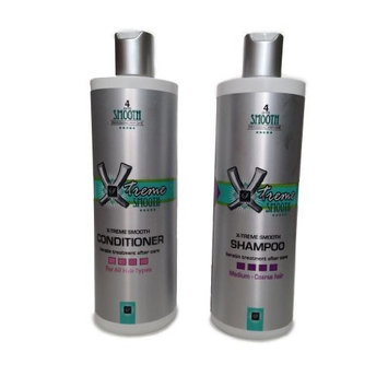 Forever Smooth - X-treme Shampoo and Conditioner - 16oz - For coarse hair. by Forever Smooth