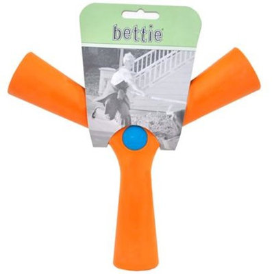 Bettie Fetch Toy Slobber and Spice (ORANGE) [Options : LARGE]
