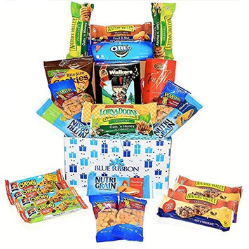 Care Package - Snacks, Nuts, Bars, Truffles,Walker Sortbread Cookies - Great Gift Basket Variety