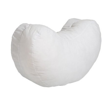 Bebe Au Lait White Simple Nursing Pillow