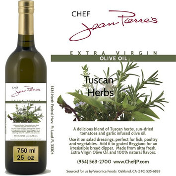 100% naturally infused Tuscan Herb Olive Oil 750ml (25oz)