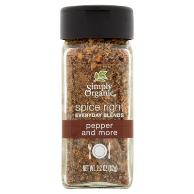 Frontier Co-op Simply Organic, Spice Right Pepper;More, 2.2 Oz (Pack Of 6)