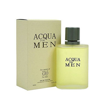 Aqua Cologne for Men 3.4 Fl. Oz by Diamond Collection