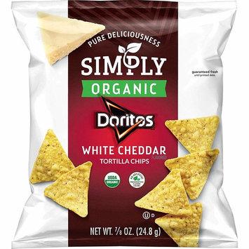 Simply Doritos White Cheddar, 0.875oz (36 Count)