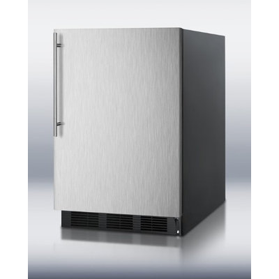 Summit 5.5 Cu. Ft. Commercial All Refrigerator w/ Stainless Steel Door & Thin Handle
