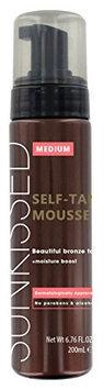 Sunkissed Instant Self Tanning Mousse Medium Bronze 200ml