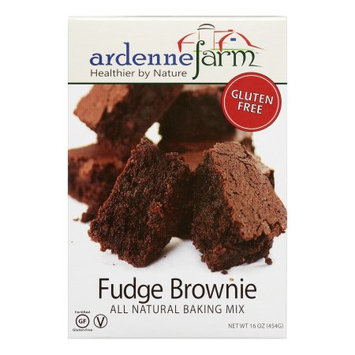 Ardenne Farm All Natural Gluten Free Baking Mix Fudge Brownie 16 oz