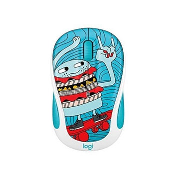 Logitech M325c Small Colorful Wireless Mouse - SkateBurger