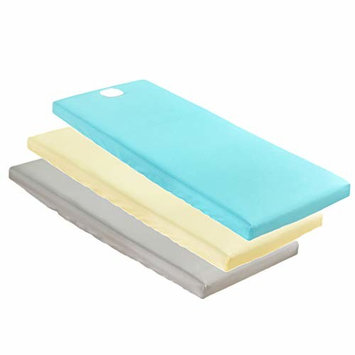 Homyl 3 Pieces Hypoallergenic Massage Bed Table Soft Cover Salon Spa Couch Bed Sheet with Face Hole - For Bed Within 75x31 Inch - Grey, Beige, Blue