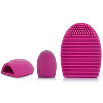 Lookatool Cleaning Glove MakeUp Washing Brush Scrubber Board Cosmetic Clean