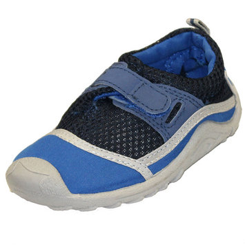 Sun Smarties Boys' Swim Shoes - Royal Blue and Black - With Antimicrobial Insoles