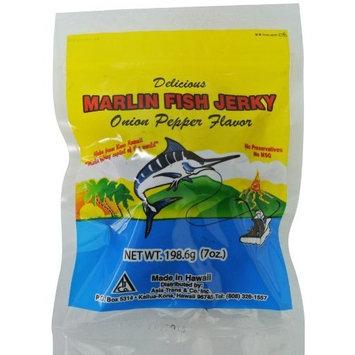 Hawaiian Marlin Jerky Onion Pepper 7 Oz Bag by Hawaii Snacks