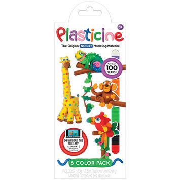 Plasticine 6 Color Pack-