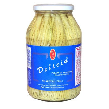 Las Delicias Delicias Bamboo Shoots 32 oz Pacaya - Delicias Bamboo Shoots 32 oz Pacaya (Pack of 12)