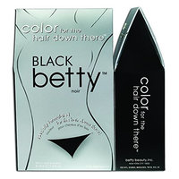 Black Betty - Color for the Hair Down There Kit (Pack of 3)