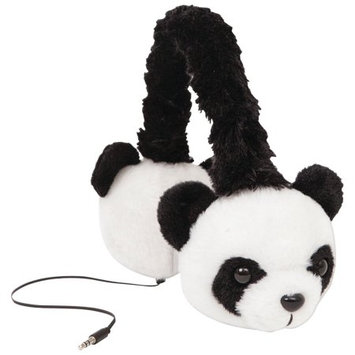 Edm Imports Inc Jamsonic Stuffed Animal Plush On Ear Headphone, Kids, Children, use for Phones, PC, MP3, MP4, Earmuffs