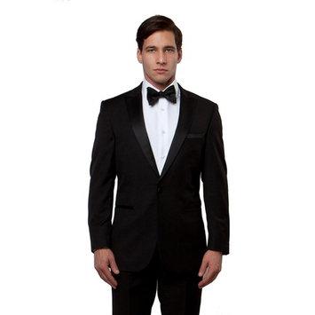 Mens Tuxedo Solid Satin Peak Lapel Set