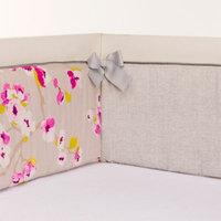 Glenna Jean Blossom Crib Bumper