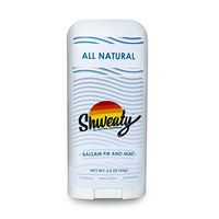 Shweaty All Natural Deodorant - Balsam Fir and Mint