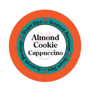 Smart Sips Coffee Almond Cookie Cappuccino, 48 Count, Single Serve Cups Compatible With All Keurig K-cup Brewers