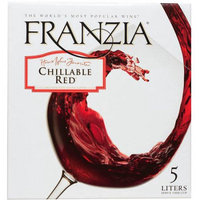 Franzia Brothers Winery Div House Wine Favorites Chillable Red, 5 lt