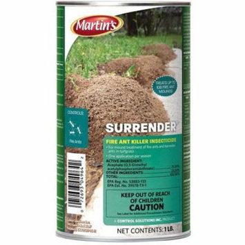 Martins s Surrender Fire Ant Killer Insecticide 1lb