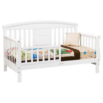 DaVinci Elizabeth II Convertible Toddler Bed in White