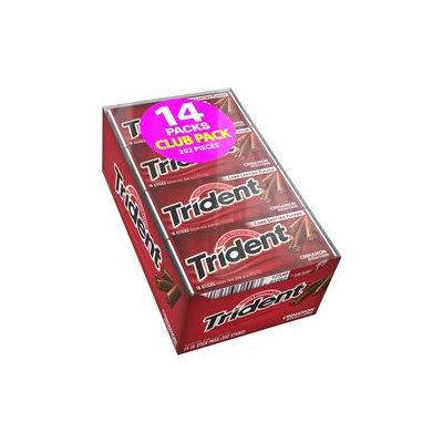 Trident Cinnamon Sugar Free Gum - 14x18 Sticks