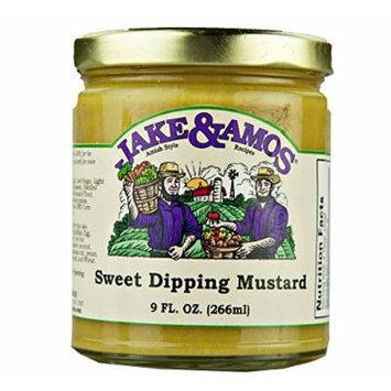 Jake & Amos Sweet Dipping Mustard 9 Oz. (2 Jars)