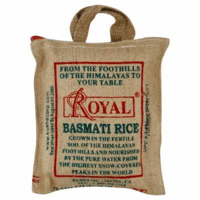 Rice Basmati Burlap Bag 2 LB (Pack Of 6) - Pack Of 6