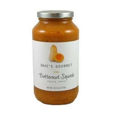 Dave's Gourmet 6 Piece Butternut Squash Pasta Sauce, 25.5 Ounce