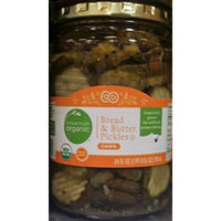 Simple Truth Organic Bread & Butter Pickles 24 oz (Pack of 2)