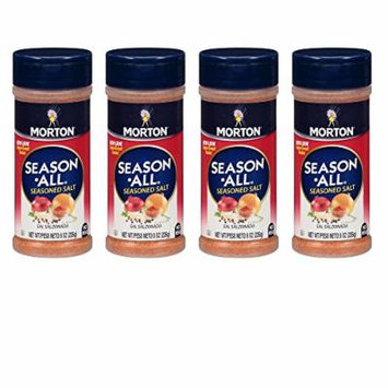 Morton Salt Season-All Seasoned Salt-8 oz (Pack of 4)