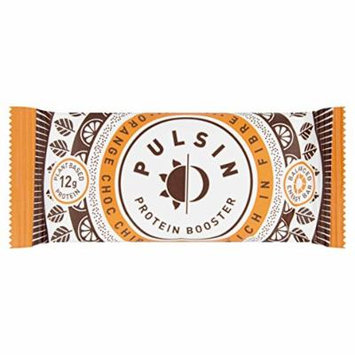 Pulsin 50g Orange Choc Chip Protein Snack - Pack of 18