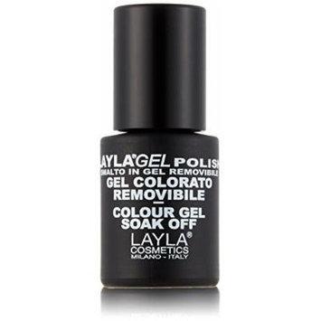 Layla Cosmetics Layla Gel Nail Polish Colour Ballerina x 0.01 Litre by LAYLA COSMETICS