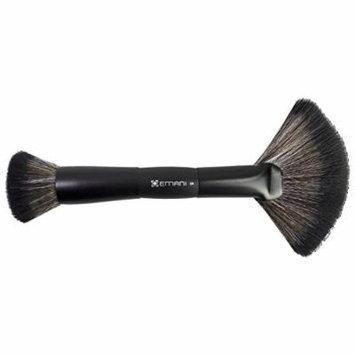 EMANI Vegan Cosmetics Duo Precision Brush Face Blender, 0.16 Ounce