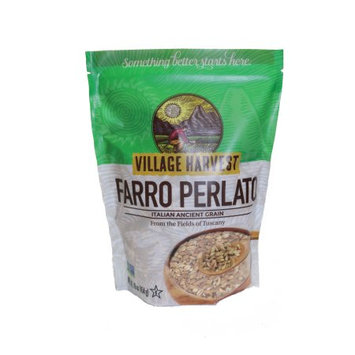 Village Harvest Whole Grain Faro Perlato Italian 16 Ounce (Pack of 6)