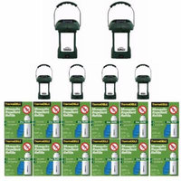 ThermaCELLMR-9L OutdoorMosquitoRepellers plusLanterns (6) & 12 Refill Packs