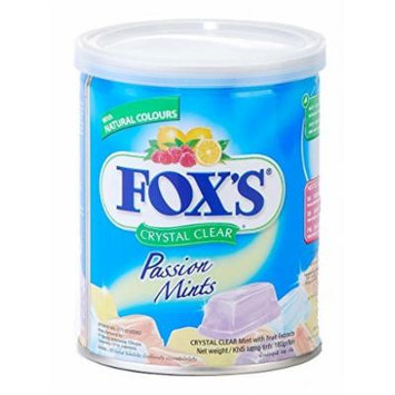 Fox'S Fox'S Extracts Crystal Clear Passion Mints, 180G