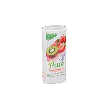 Crystal Light Pure Strawberry Kiwi Pitcher Pack 4 Canisters