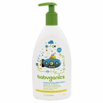BabyGanics - Lotion Daily Moisturizing Fragrance Free - 17 oz.(pack of 3)