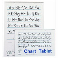 School Smart 085327 24 x 32 In. Chart Tablet, 25 Sheets, 1 In. Ruled