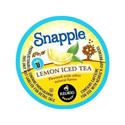 Snapple Lemon Tea, Single Serve Tea K-Cups, 44-Count For Brewers