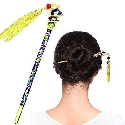 Fashion & Lifestyle Hair Style Decor Hair Sticks Shawl Pins Picks Pics Forks for Women Girls Hair Accessory 6